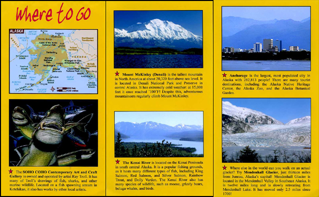 Gepoteriko travel brochures for State brochure template